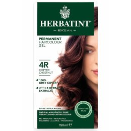 Herbatint Permanent Hair Dye - 4R Copper Chestnut - 150ml