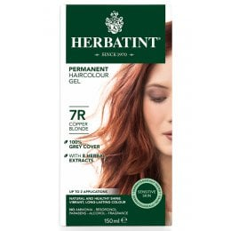 Herbatint Permanent Hair Dye - 7R Copper Blonde - 150ml