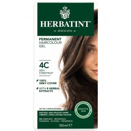 Herbatint Permanent Hair Dye - 4C Ash Chestnut - 150ml