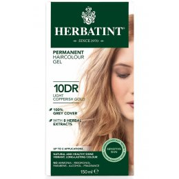 Herbatint Permanent Hair Dye - 10DR Light Copperish Blonde - 150ml