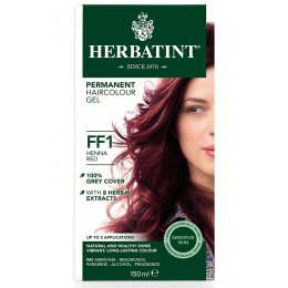 Herbatint Permanent Hair Dye - FF1 Henna Red - 150ml