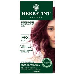 Herbatint Permanent Hair Dye - FF3 Plum - 150ml