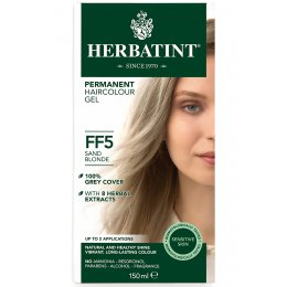 Herbatint Permanent Hair Dye - FF5 Sand Blonde - 150ml