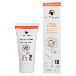 Odylique Natural Sunscreen SPF 30 - 50ml