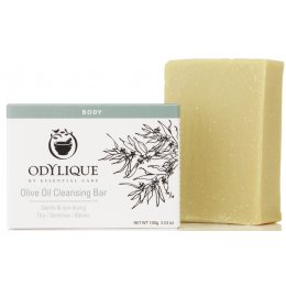 Odylique Pure Olive Cleansing Soap Bar - 100g