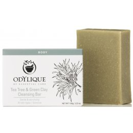 Odylique Tea Tree & Green Clay Cleansing Soap Bar - 100g
