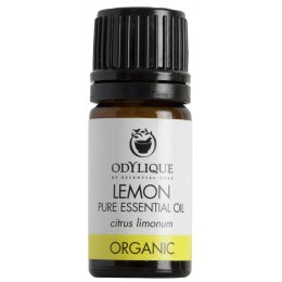 Odylique Organic Lemon Essential Oil - 5ml