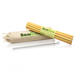 Bambaw Bamboo Straws - 22cm - Pack of 12