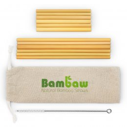 385a22170a2 Bambaw Bamboo Straws - 14cm & 22cm - Pack of 12