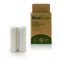 Bambaw Corn Starch Dental Floss Refill - Pack of 2