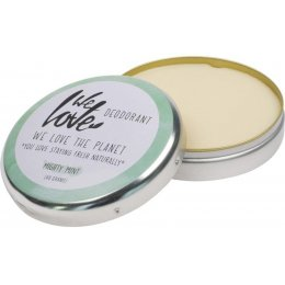 We Love the Planet Natural Deodorant Cream - Mint - 48g