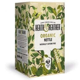 Heath & Heather Organic Nettle Tea - 20 Bags
