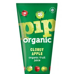 Pip Organic Cloudy Apple Fruit Juice - 4 x 180ml