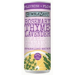Bumblezest Flourish & Flow Rosemary, Thyme & Lavender Sparkling Water - 250ml