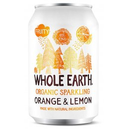 Whole Earth Sparkling Orange & Lemon Juice - 330ml