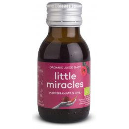 Little Miracles Organic Concentrate Juice Shot - Pomegranate Chilli - 60ml