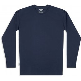 Mens Long Sleeve Tee - Navy