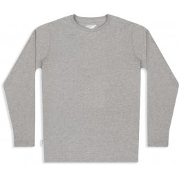 Mens Long Sleeve Tee - Ash Marl