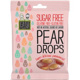 Free From Fellows Vegan Sugar Free Pear Drops - 70g