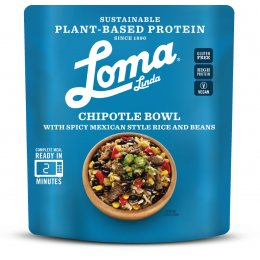 Loma Linda Chipotle Bowl Ready Meal - 284g