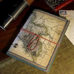 World Map Notebook