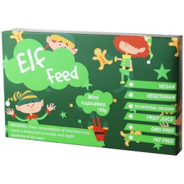 The Treat Kitchen Christmas Elf Feed Box - 100g