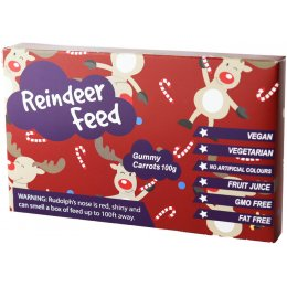 The Treat Kitchen Christmas Reindeer Feed Box - 100g