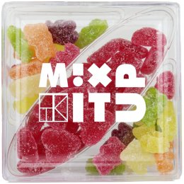 The Treat Kitchen Mix It Up Vegan Jelly Sweets Variety Box - 180g
