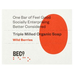 BECO Wild Berries Soap Bar - 100g