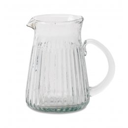 Ruri Recycled Glass Jug - Small