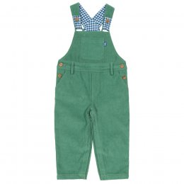Kite Green Cord Dungarees