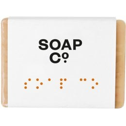 The Soap Co Mulberry & Amber Soap Bar - 125g