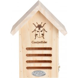 Wooden Ladybird House