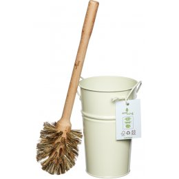 ecoLiving Plastic Free Toilet Brush & Holder