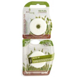 ecoLiving Plant-Based Dental Floss - Double Pack