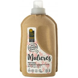 Mulieres Natural Organic Laundry Liquid - Rose Garden - 1.5L