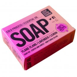 Our Tiny Bees Cold Pressed Soap - Ylang Ylang, Lavender & Lemon - 140g