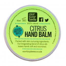 Our Tiny Bees Citrus Hand Balm - 45g