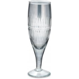 Abeeko Smoke Champagne Glass