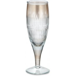 Abeeko Gold Champagne Glass