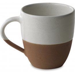 Mali White & Terracotta Large Mug
