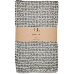 Nola Grey Bath Towel