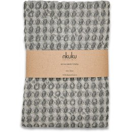 Nola Grey Hand Towel