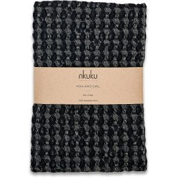 Nola Charcoal Hand Towel