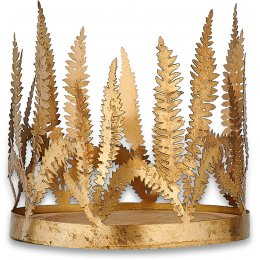 Tabwa Fern Candle Holder