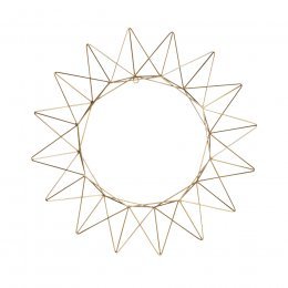 Talina Antique Brass Wreath