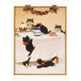 Cats Charity Christmas Cards - Pack of 8