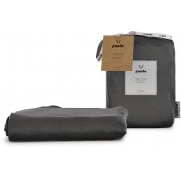 Panda Urban Grey Fitted Bamboo Sheet - Double