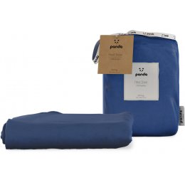 Panda Deep Sea Navy Fitted Bamboo Sheet - King