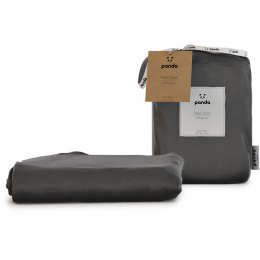Panda Urban Grey Fitted Bamboo Sheet - Super King